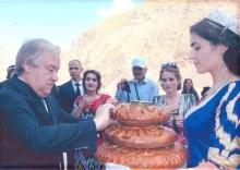 Сафари Дабири кулли СММ ба ноҳияи Дарвоз дар соли 2018